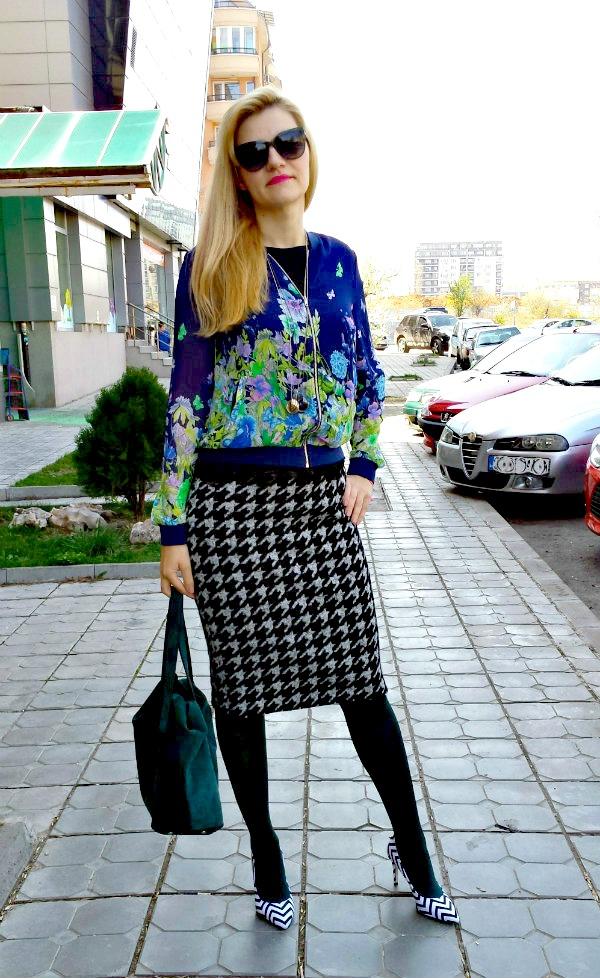 Style inspiratrice-flower bomber