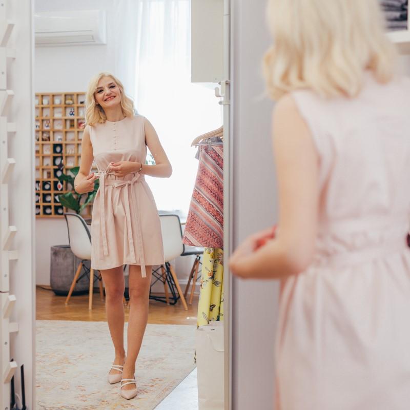 Sassa Björg модел в пудра