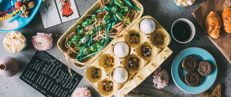 Ефектна и лесна Великденска декорация с яйца