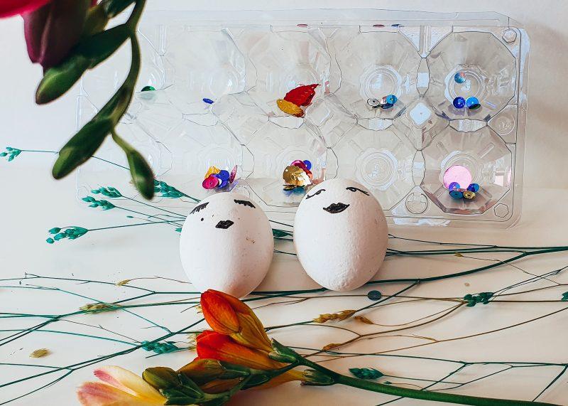 Рисувани яйца за Великденска трапеза