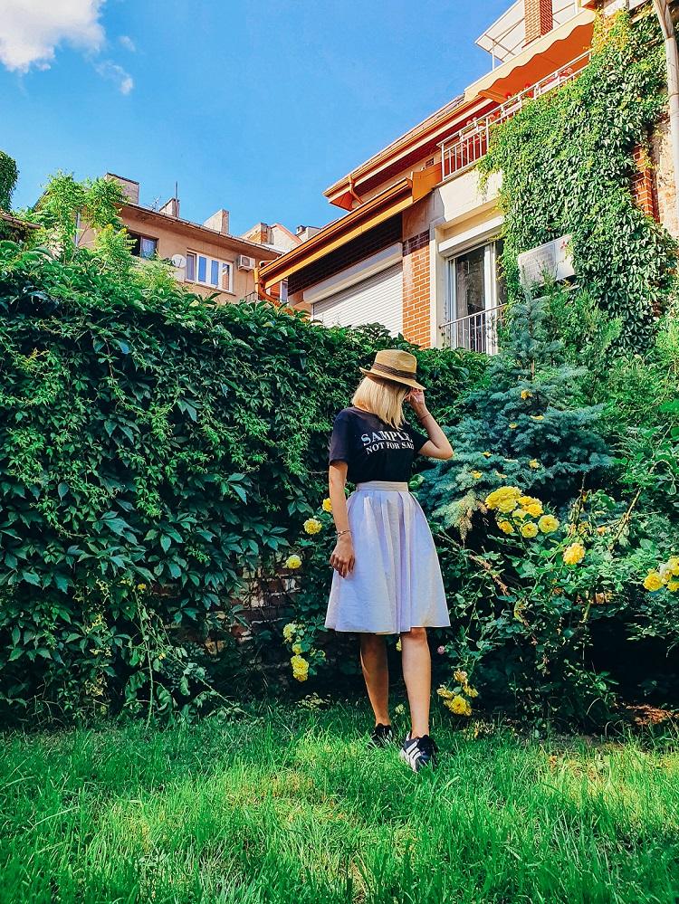 Шапка от рафия - Къщата на шапките