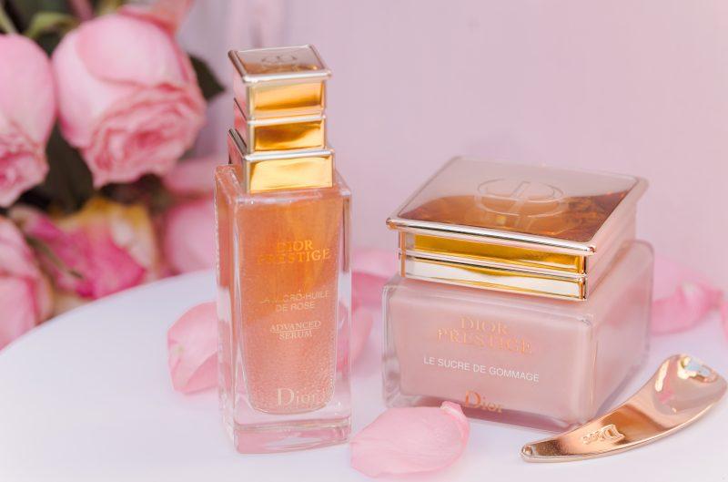 Dior Prestige: La Micro huile de rose  и Le Sucre de gommage